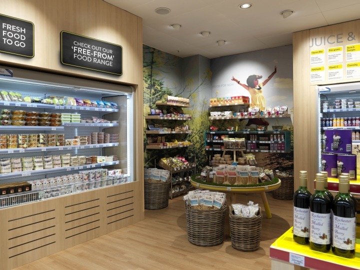 Nutricentre By The Yard Creative London Uk 187 Retail