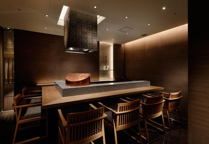 Palace Hotel Wadakura Restaurant By A N D Tokyo Japan