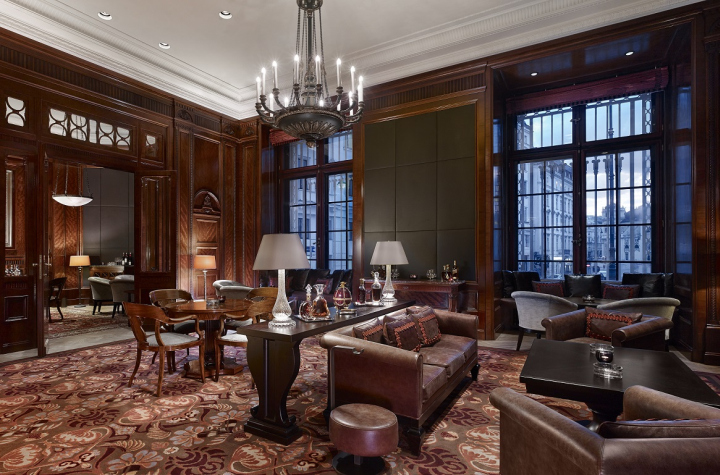 Occupying the former site of the Austrian Hungarian Monarchy Bank, the interior  design of the Park Hyatt Vienna was entrusted with FG Stijl, a Dutch based  ...