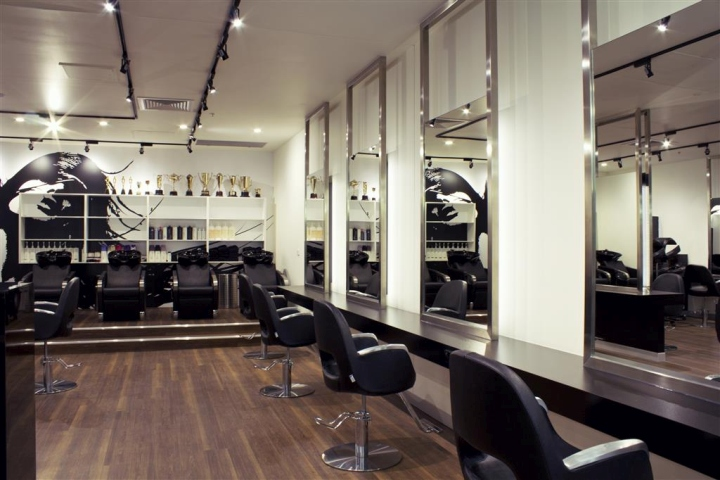 Stelios Papas Salon By Blackbox Retail Projects Brisbane
