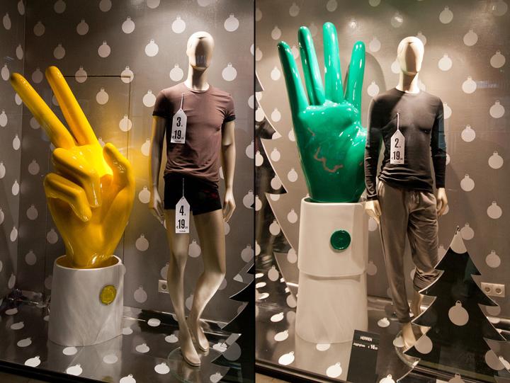 维也纳奥地利tezenis服装店橱窗设计