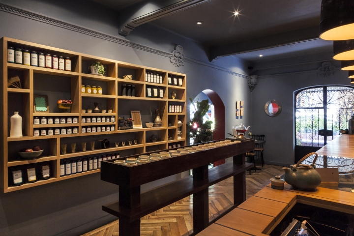 » Tomás Tea House By Savvy Studio, Mexico City