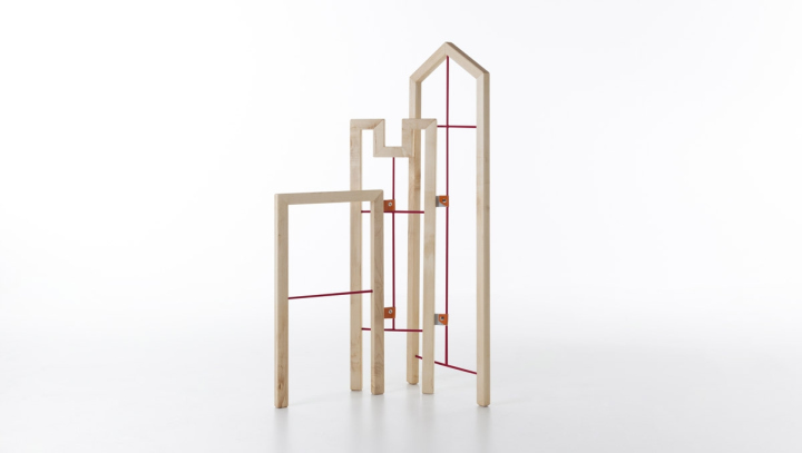 tusciao valet stand by andrea brugnera for formabilio. Black Bedroom Furniture Sets. Home Design Ideas