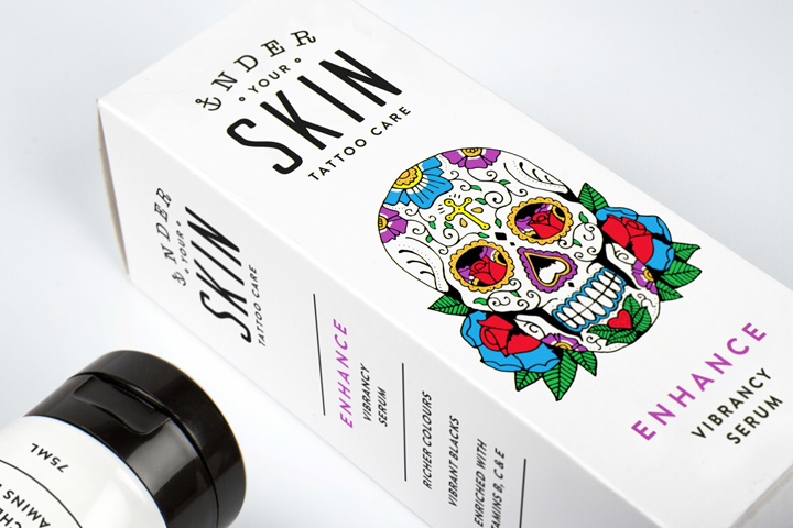 Under Your Skin Packaging By Robot Food