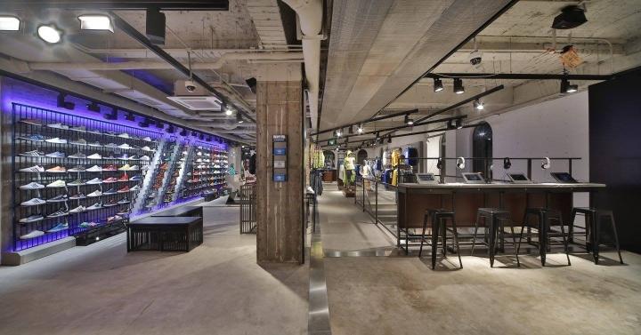 adidas nbhd concept store berlin germany retail design blog. Black Bedroom Furniture Sets. Home Design Ideas