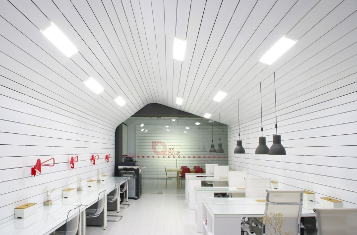 As built architecture office coworking space by as built for Spaces architects safdarjung