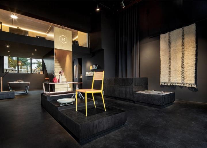 德国柏林Bazar家具展厅设计