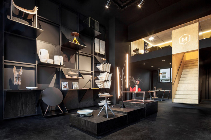bazar noir concept store by hidden fortress berlin germany retail design blog. Black Bedroom Furniture Sets. Home Design Ideas