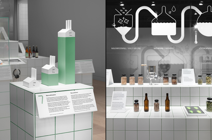 Exhibition Booth Pdf : Beer exhibition at spritmuseum by form us with love