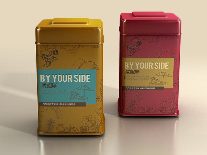 Bora Bora By Your Side packaging by Aurea 04 Bora Bora By Your Side packaging by Aurea