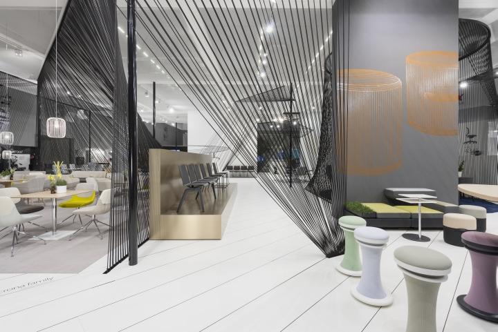 brunner stand at orgatec 2014 by ippolito fleitz group cologne germany retail design blog. Black Bedroom Furniture Sets. Home Design Ideas