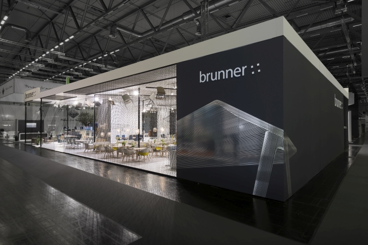 Brunner Fair stand Orgatec 2014