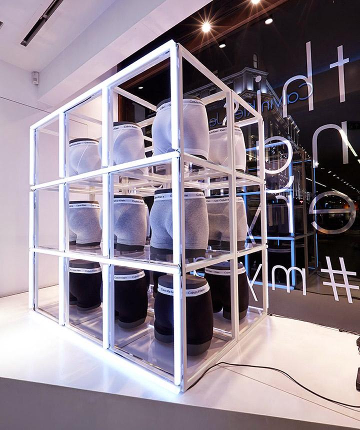 187 Calvin Klein Windows By Studioxag London Amp Milan