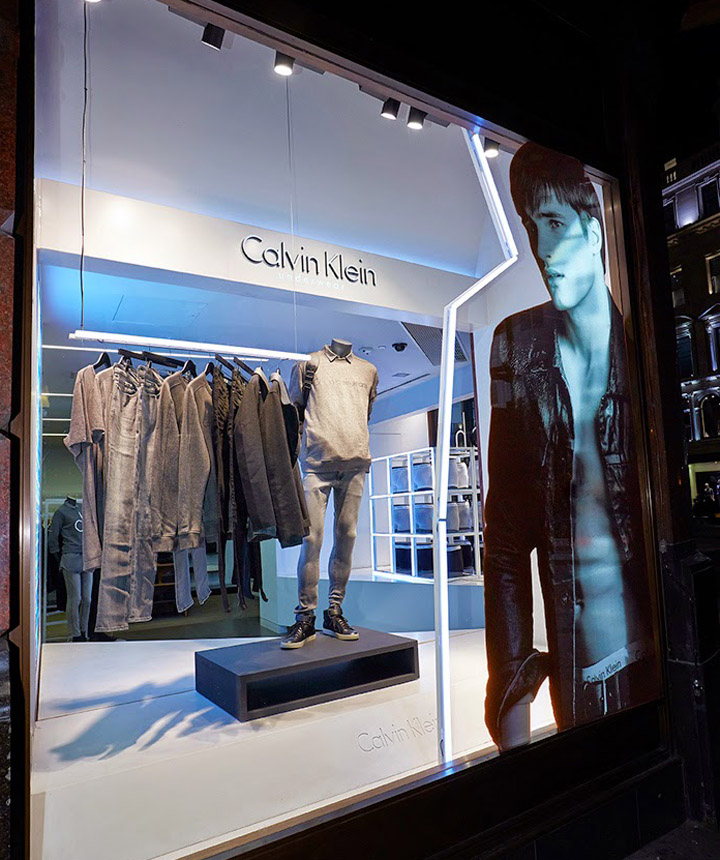 Calvin Klein Windows By Studioxag London Amp Milan 187 Retail
