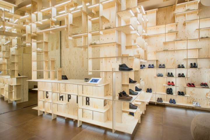 187 Camper Store By Kengo Kuma And Associates Milan Italy