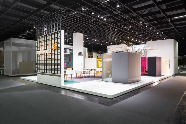 Exhibition Stand Flooring : Carpet concept flagship stand at orgatec by