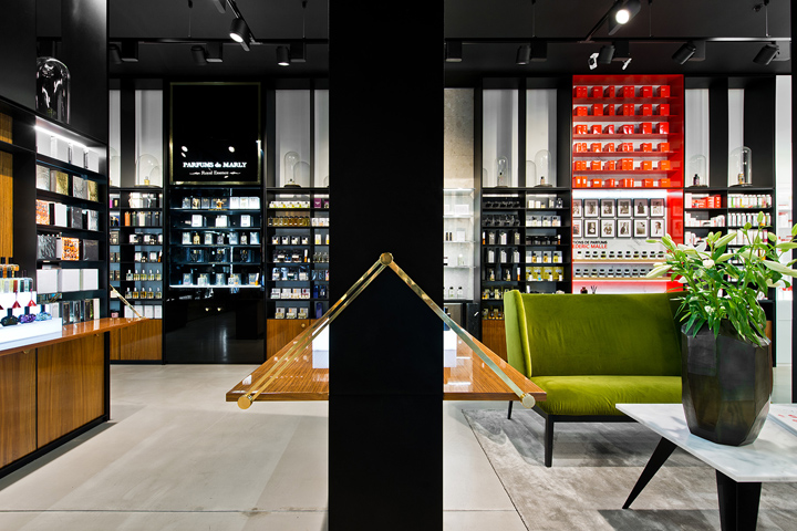 To create a nuanced immersive world of fragrances as for Design hotel vilnius