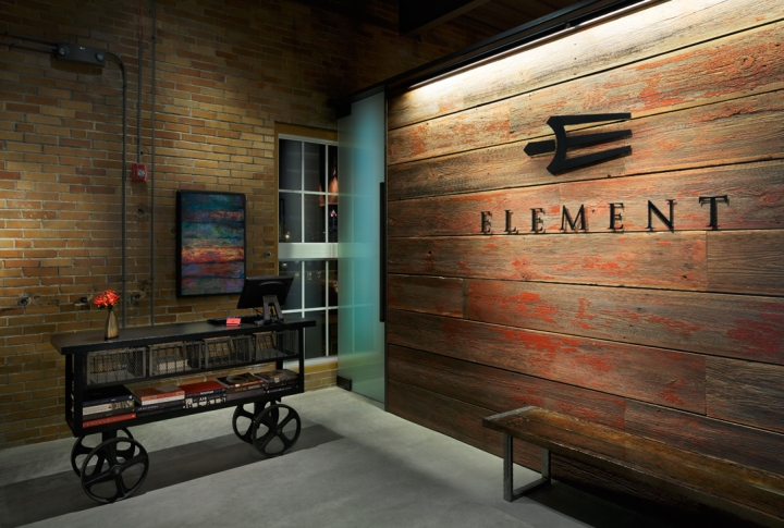 "When dining at Element, every guest has a seat at the Chef's table due in  part to the strategic ""open kitchen"" layout: the design engages diners as  the ... - Element Restaurant And Lounge By Remiger Design, Saint Louis"