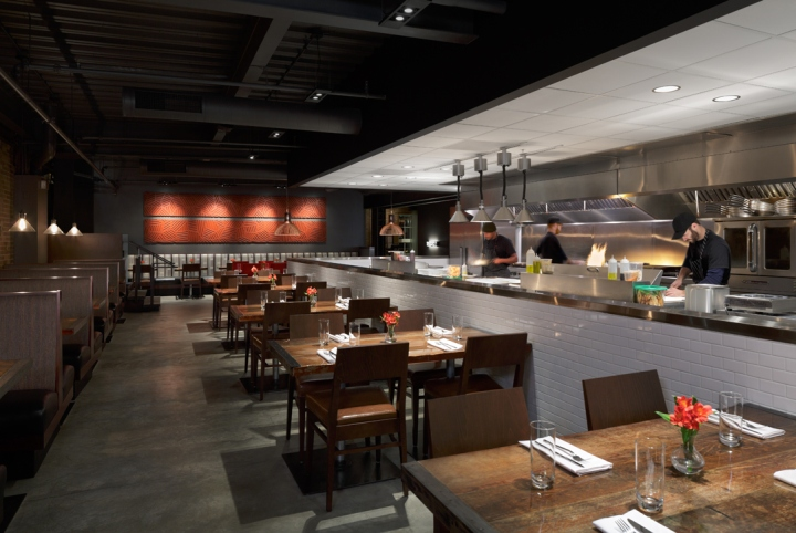 Element restaurant and lounge by remiger design saint