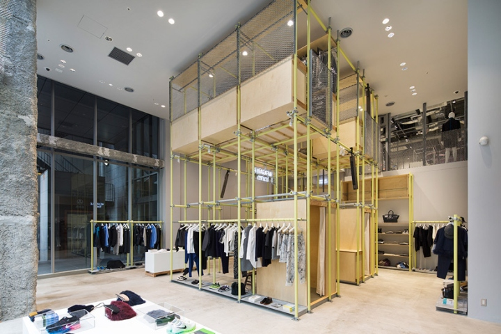 日本银座En Route服装店设计