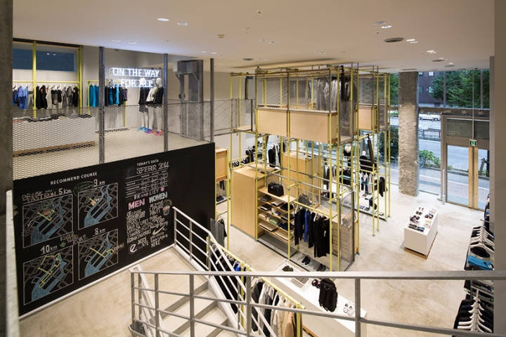 En Route store by Schemata Architects Ginza Japan 07 En Route store by Schemata Architects, Ginza   Japan
