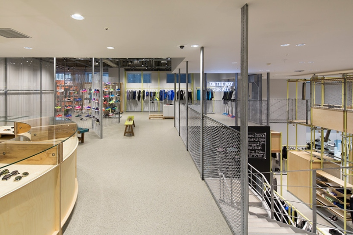 En Route store by Schemata Architects Ginza Japan 08 En Route store by Schemata Architects, Ginza   Japan