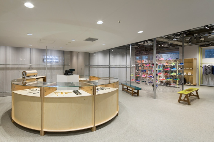 En Route store by Schemata Architects Ginza Japan 09 En Route store by Schemata Architects, Ginza   Japan
