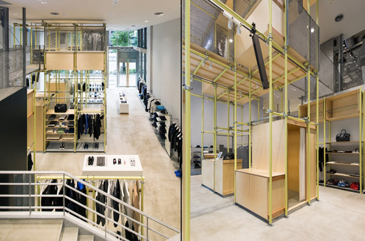 En Route store by Schemata Architects Ginza Japan 15 En Route store by Schemata Architects, Ginza   Japan