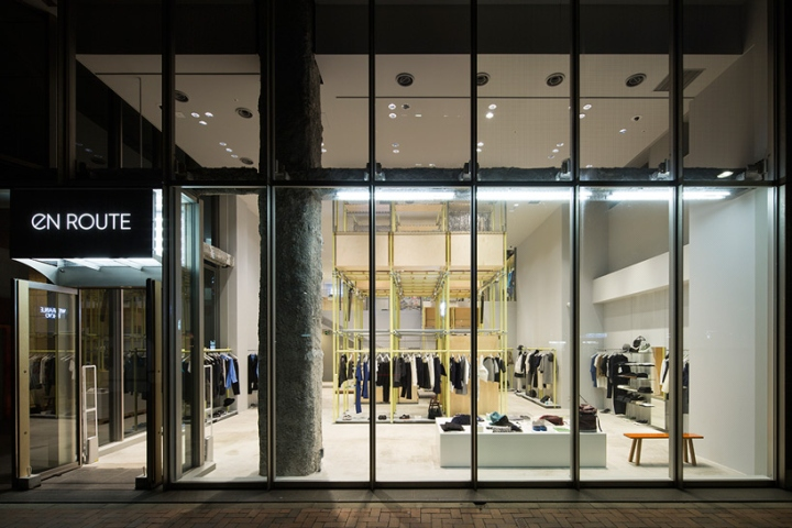 En Route store by Schemata Architects Ginza Japan 17 En Route store by Schemata Architects, Ginza   Japan