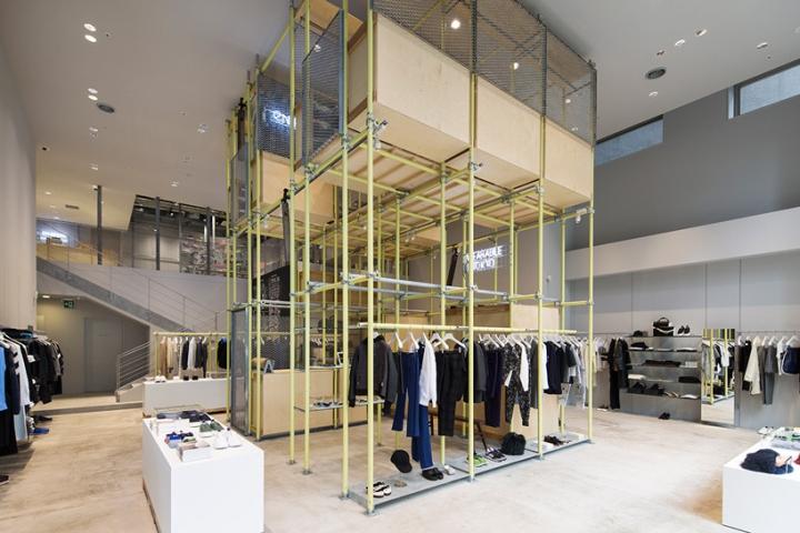 Steel Scaffolding Japan : Scaffolding retail design