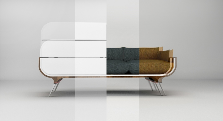 Faces commode cabinet sofa by radmila petrovic belgrade serbia retail de - Commode design chambre ...