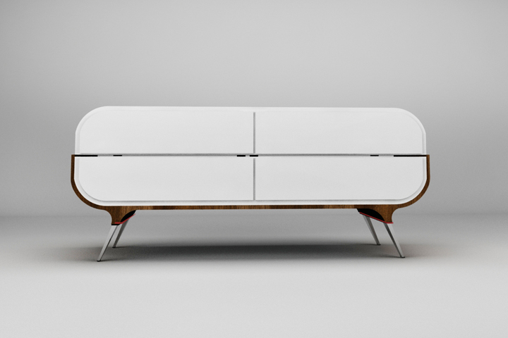 Faces Commode Cabinet Sofa Concept By Radmila Petrovic