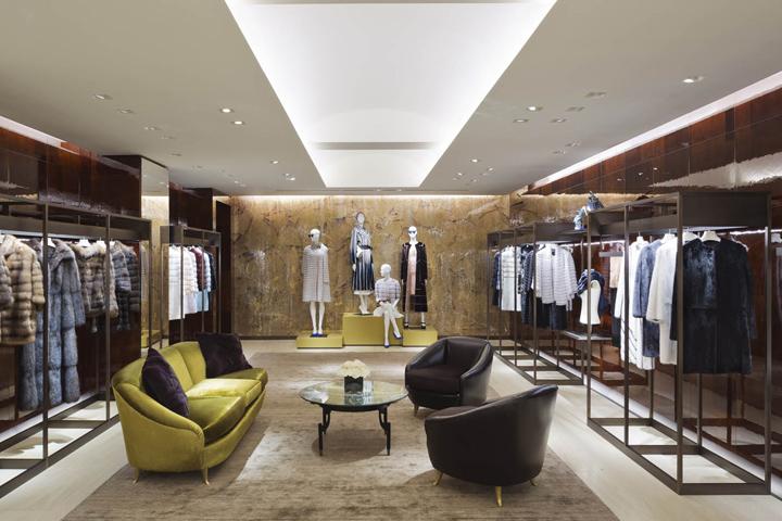 Fendi 187 Retail Design Blog