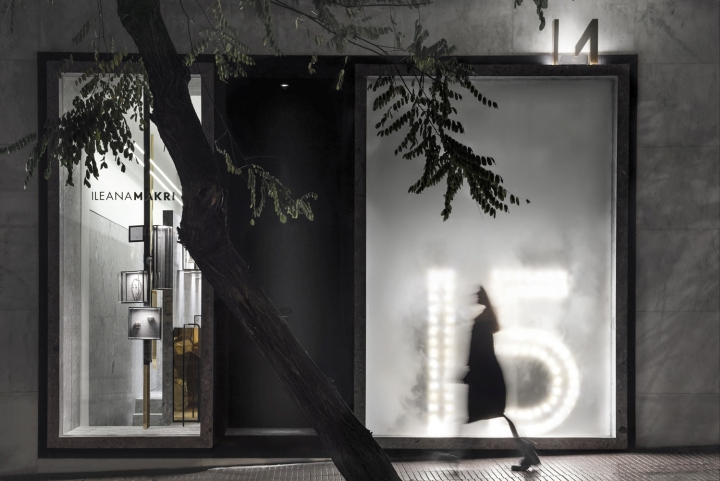 希腊雅典Ileana饰品店设计