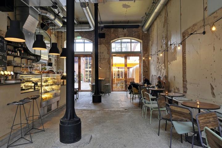 Kafe magasinet by robach arkitekturn gothenburg sweden