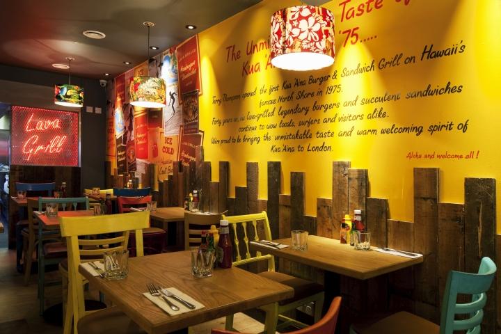 Kua Aina Burger And Sandwich Grill By Designlsm London