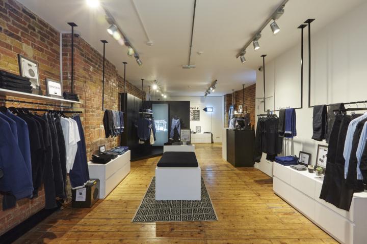 187 Levi S Line 8 Pop Up Shop On Charlotte Road By Formroom