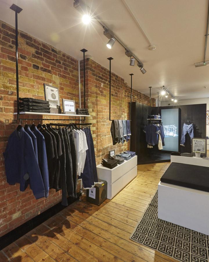 Leviu0027s Line 8 Pop Up Shop On Charlotte Road By FormRoom, London U2013 UK »  Retail Design Blog