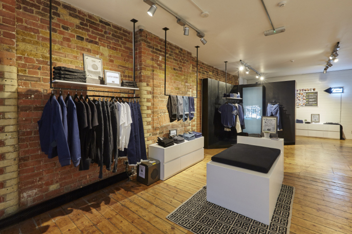Charming Leviu0027s Line 8 Pop Up Shop On Charlotte Road By FormRoom, London U2013 UK