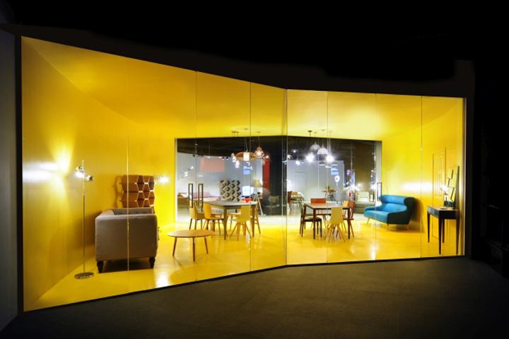 Flagship showroom by bureau de change london uk retail design blog - Www made com showroom ...
