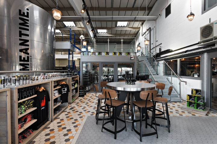 Crafted Design By Studio 48 London For Meantime Brewing Companys New Tasting Rooms And Brewery Shop Company