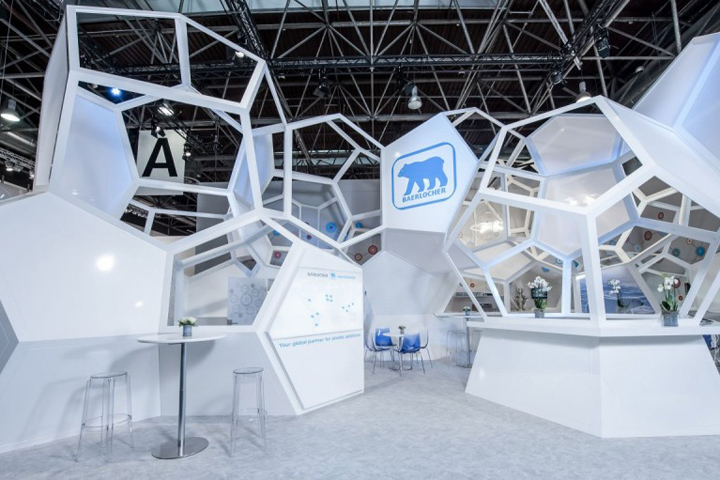 Trade Fair Stands Design : Spatial structure retail design