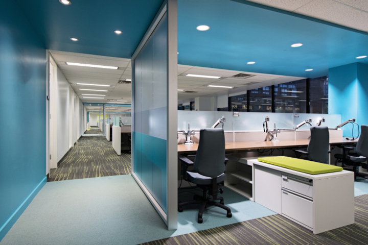 187 Morneau Shepell Office By Metaphore Design Montreal