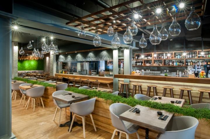 Murakami restaurant by seventh studio london uk