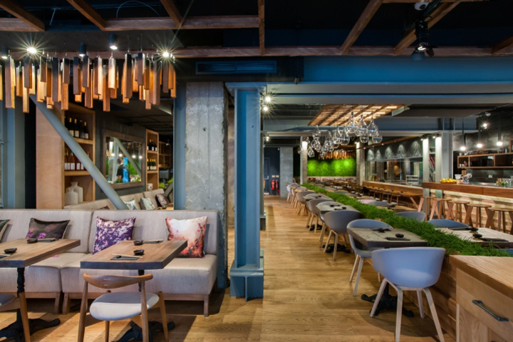 Murakami Restaurant by Seventh Studio London UK Murakami Restaurant by Seventh Studio, London   UK