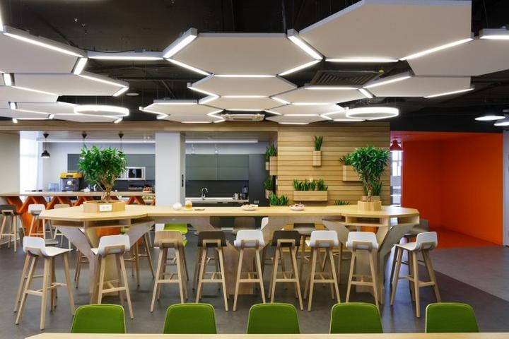 Odnoklassniki offices by briz studio saint petersburg for Office design studio