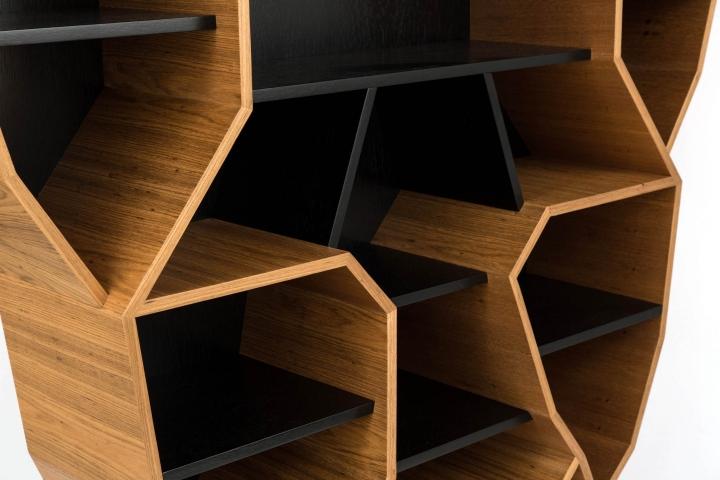 Unusual Bookshelf By Henrique Steyer Takes The Spotlight In Brazilian  Design Show.