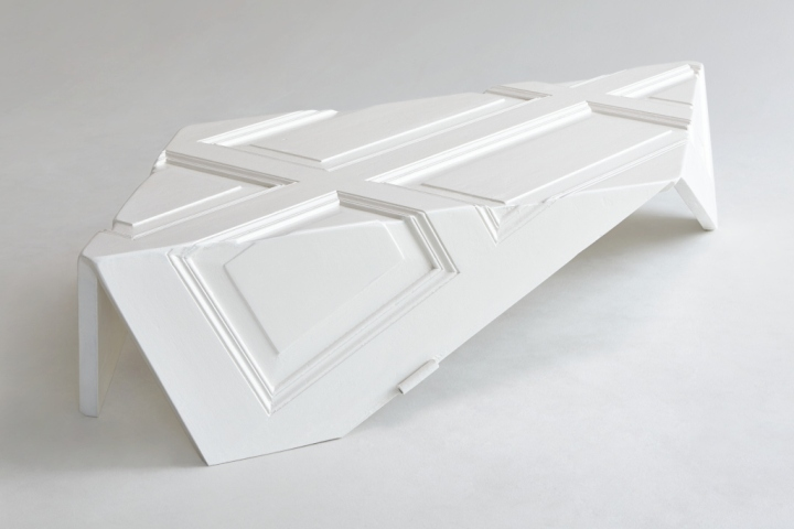 The \u0027Origami 9010\u0027 doors by Yoraco Gonzalez are the first edition of sculptural furniture influenced by the traditional art of paper folding. & Origami 9010 Door Table by Yoraco Gonzalez » Retail Design Blog