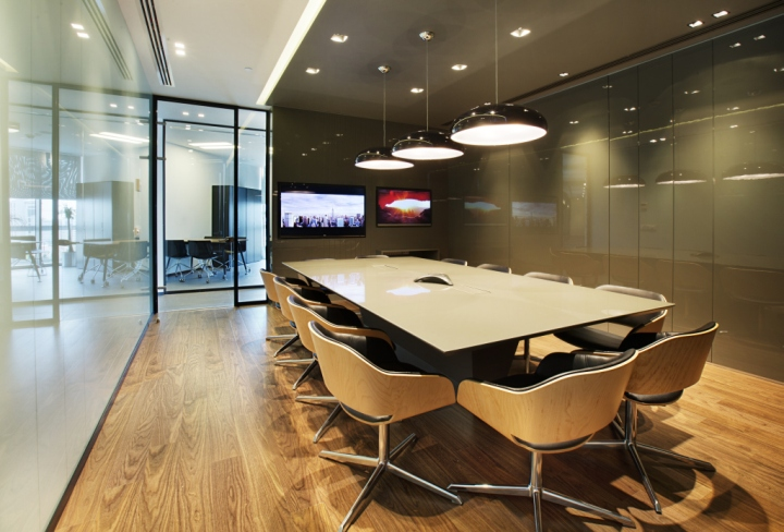 Philip morris travel and sales office by mimaristudio for Sales office design