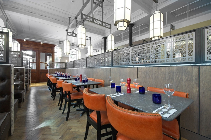Pizza express restaurant by creed design manchester